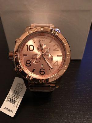 Nixon Chrono 51-30 A083-897 All Rose Gold Watch Brand New