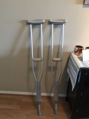 Used once crutches!
