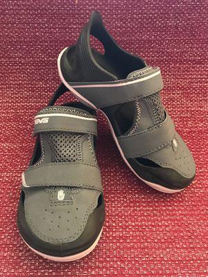 NEW TEVA Barracuda Girls Closed Toe Sandals Kids Size 12