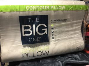 Contour Gel memory foam Pillow Brand New In A Pack Price Negotiable