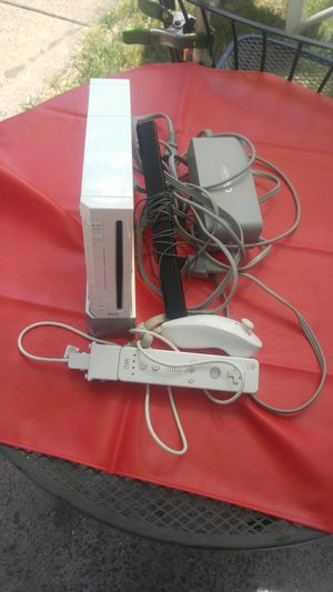Wii with 1 controller and cords