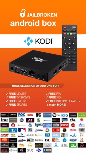 JAILBROKEN Android TV BOX 📺 || FULLY LOADED w/ Kodi v17.4, Mobdro & Showbox 🎥 || 24/7 Technical Support ☎️ || Works better than Amazon Fire Stick ‼️