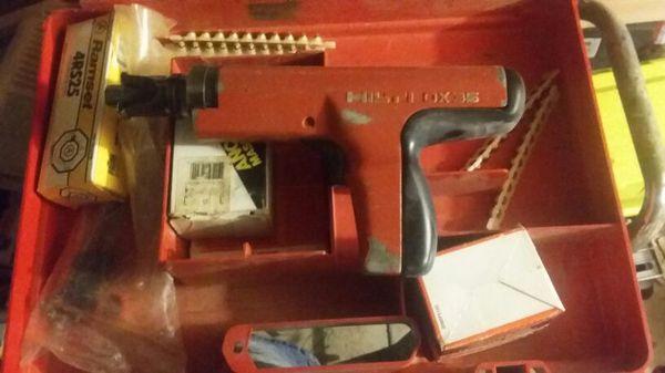 metal framing gun hilti - Metal Framing Tools