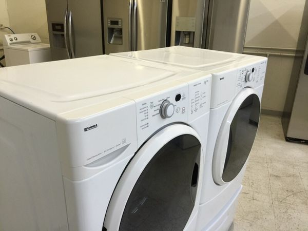 Kitchenaid Front Load Washer kenmore he2 front load washer and gas dryer set (appliances) in
