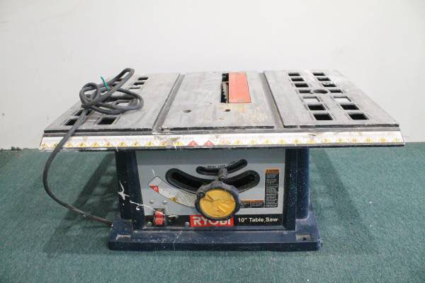 Ryobi bts10 table saw 10 blade well used tools machinery in ryobi bts10 table saw 10 blade well used tools machinery in lawndale ca greentooth Gallery