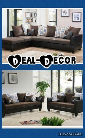 Chocolate Micro Fiber Sofa Set