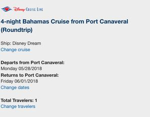 4Night Bahamas Cruise From Port Canaveral