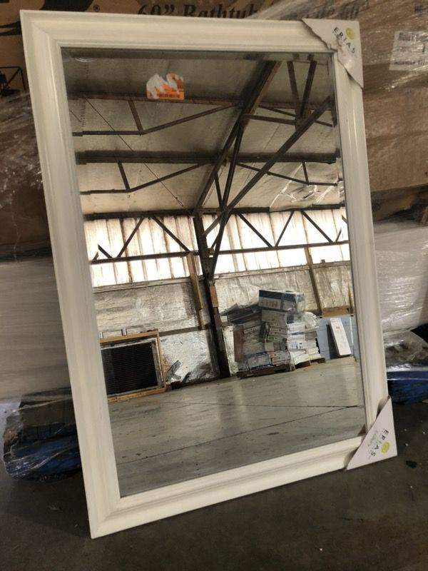 Moonlight Framed Beveled Mirror Erias Home Design X