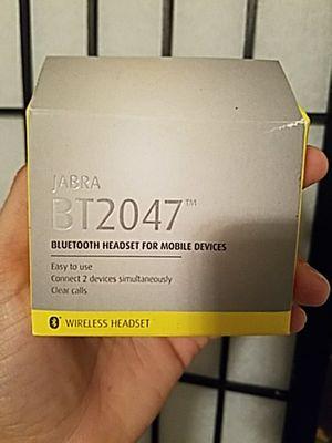 Jabra Bluetooth ear piece