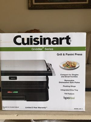 Grill and panini press unopened $45, used for sale  Wichita, KS