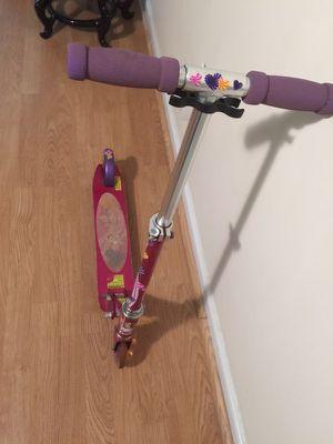 Barbie mini scooter
