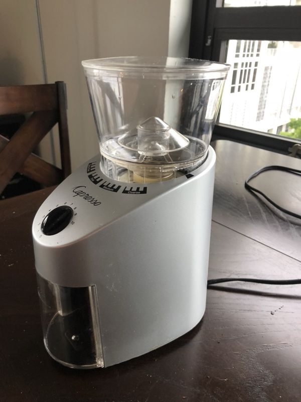 grinder pin review coffee capresso burr infinity