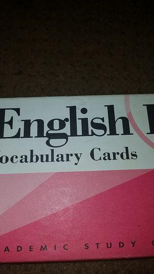 Visual Education's ENGLISH I SAT Vocabulary Cards