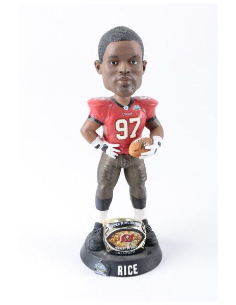 Simeon Rice Limited Edition Super Bowl Bobblehead