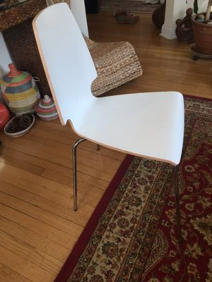 White chair from Ikea