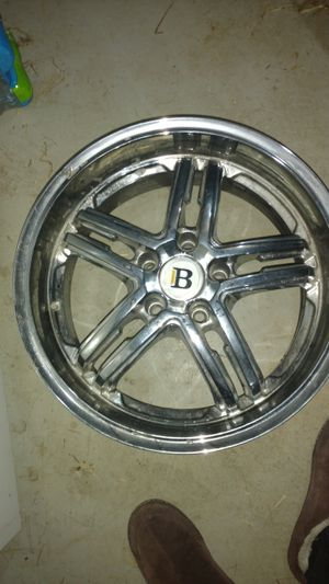 Set of 4 Bremmel wheels