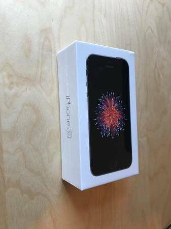 Brand new unlocked iPhone se