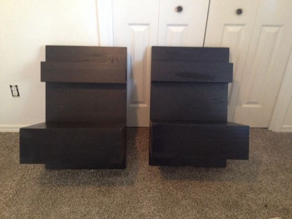 Ikea Malm Night Stand attach to Malm bed frame Furniture in