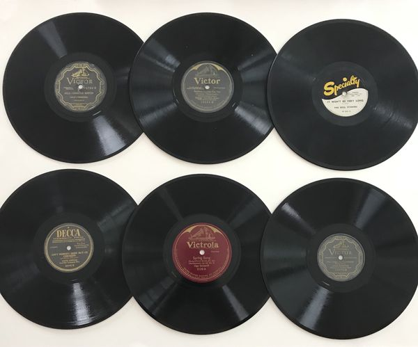 Assorted Vintage LPs And 78RPM Records 1 Record CDs DVDs In