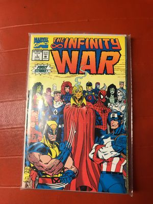 The Infinity War 1992 (mint Condition)