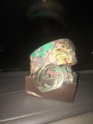 Gucci tiger belt 70$