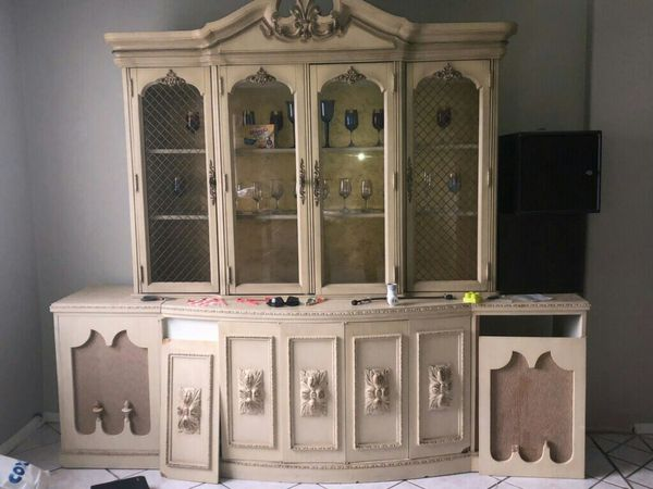 Used Dining Room Set Antique China Cabinet