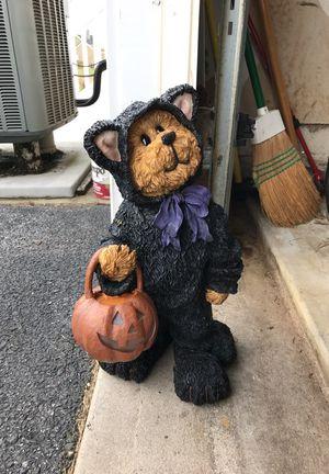 Genuine Boyds Bear Statue Halloween