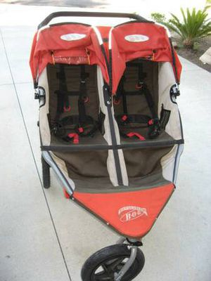 Bob double stroller in great condition
