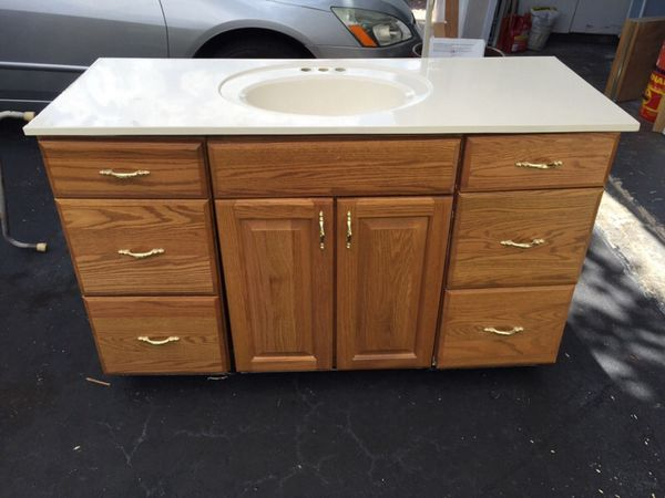 Bathroom Vanity With Sink Household In Coral Springs Fl Offerup