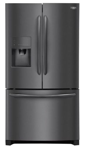 "Frigidaire Gallery Black Stainless FGHB2867TD 36"" French Door Refrigerator"