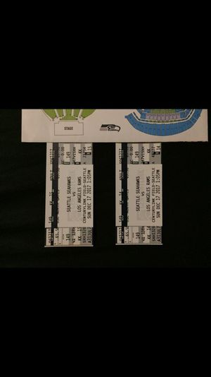 Seahawks!! Tickets for sale