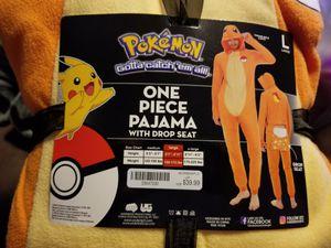 Pokemon one piece pajama