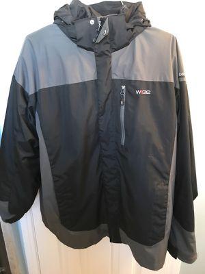 Mens Weatherproof Hydro Tech 32 Degrees Dark/Medium Gray Jacket - Size L
