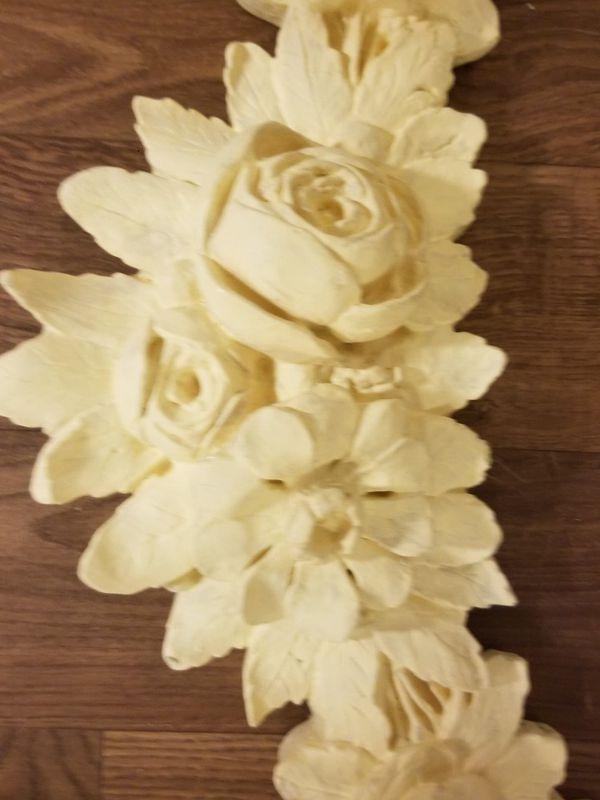 Fine Ceramic Flower Wall Art Model - Wall Art Collections ...