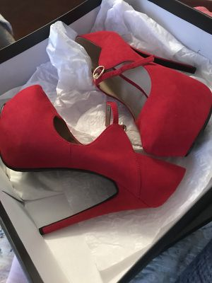 New Red Pumps