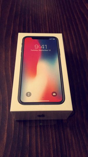 iPhone X 256 GB space gray (GSM unlocked) local pickup or one day shipping!