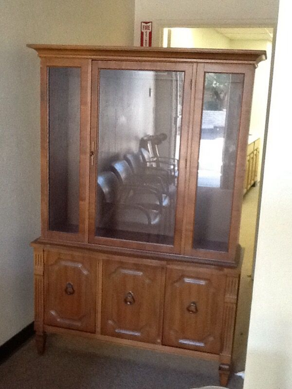 very nice vintage hutch furniture in tempe az