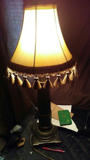 New and used lamp shades for sale in cedar rapids ia offerup lamp with shade mozeypictures Images