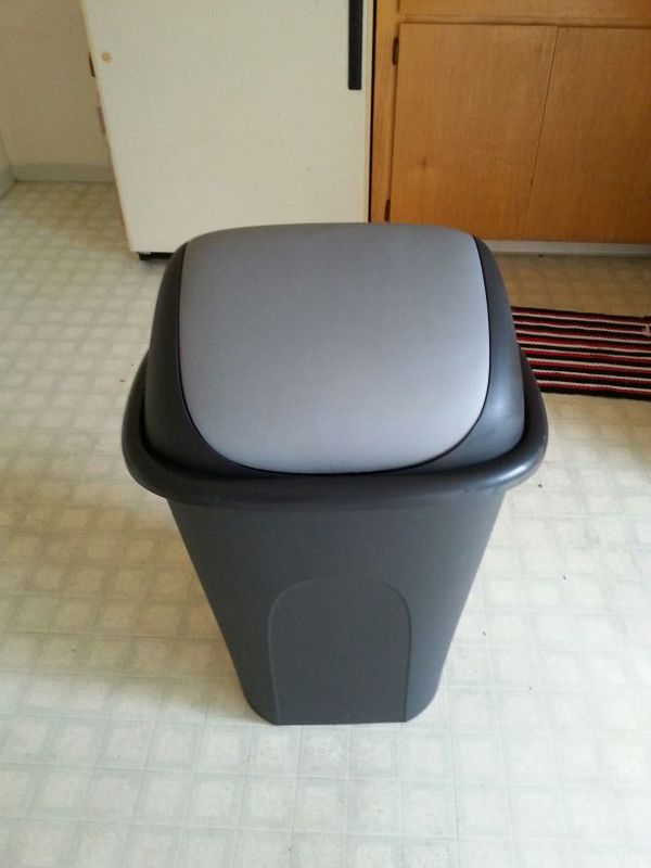 Under Sink Garbage Can Inspirational The With Lid Kitchen Of Canh Inspiring Trash Rev
