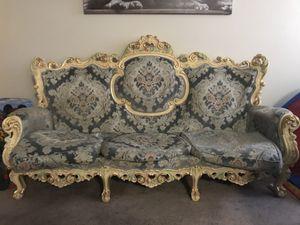 Vintage tea room sofa