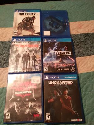 Playstation 4 games for sale  Springdale, AR
