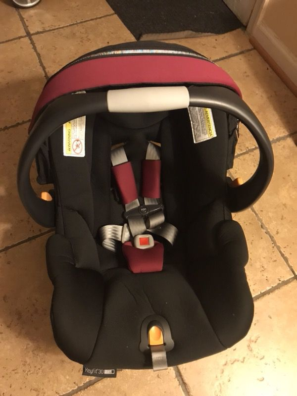 Chicco Keyfit caddy stroller frame and Chicco Key Fit 30 Zip Infant ...