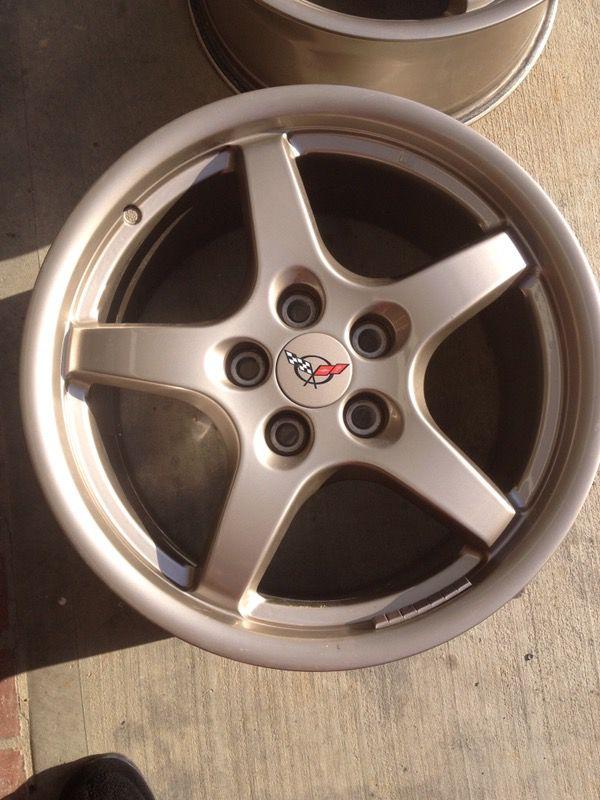 97-04 C5 Corvette Factory Magnesium Wheel Rims Camaro ...