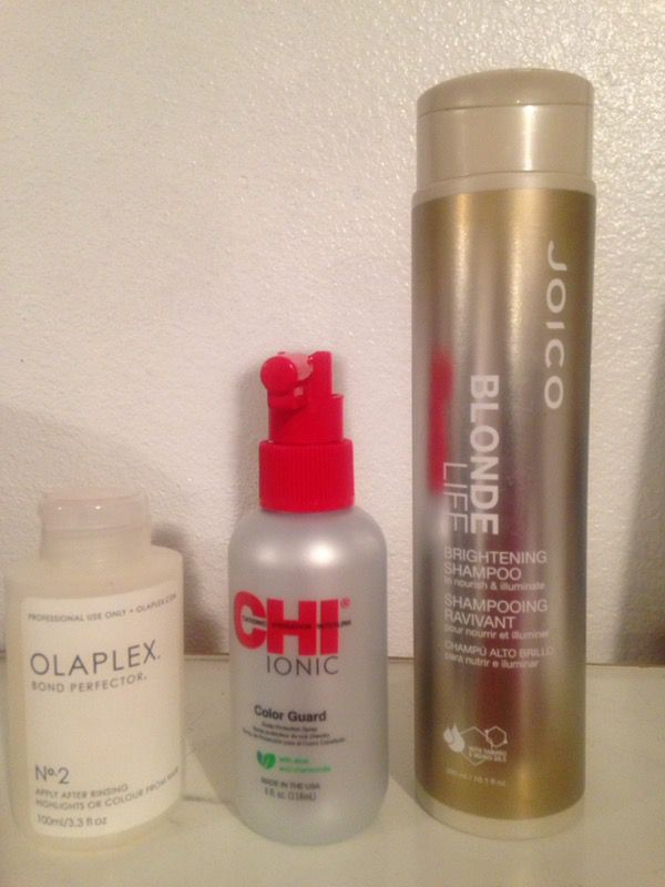 Olaplex Chi Ionic Joico Blond Life Brightening Shampoo Beauty