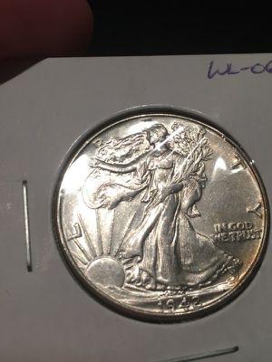 1942 walking liberty half dollar - beautiful detail