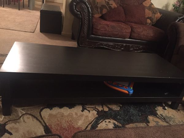 Tv stand like new no scratch and anything, wooden stand for big tv like 50 inches and up