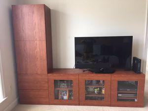 BESTA storage combination living room