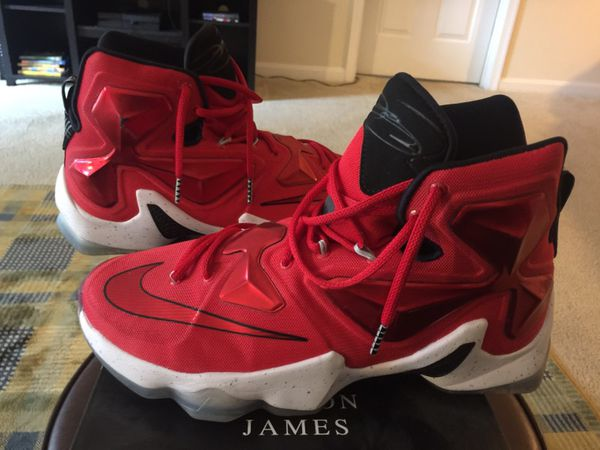 Lebron size 10 worn twice