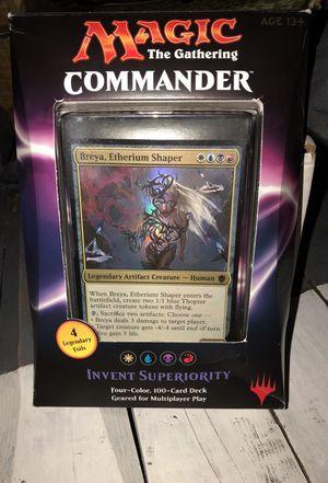 Magic the gathering commander deck