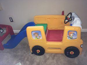 School bus with Slide
